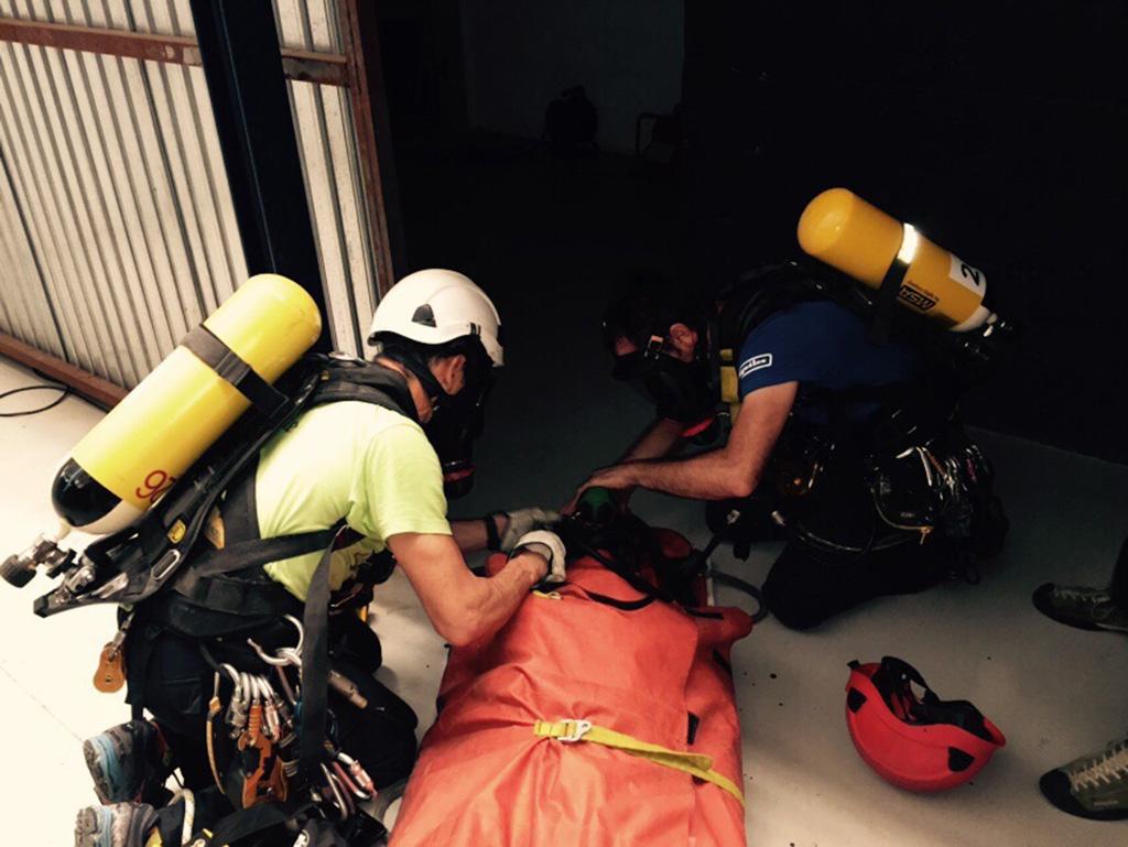 imagen curso GWO BST primeros auxilios